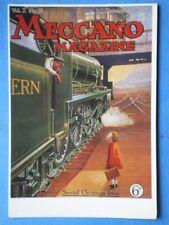 POSTCARD  MECCANO MAGAZINE XMAS ISSUE