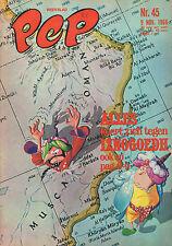 PEP 1968 nr. 45 - IZNOGOEDH (COVER) / MOTORSPORT / DAF/ VARIOUS COMICS