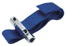 """DRAPER 56137 OIL FILTER STRAP WRENCH REMOVAL TOOL 300mm Dia 1/2"""" & 3/8"""" SQ DR"""