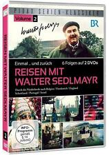 Reisen mit Walter Sedlmayr (Einmal ? und zurück), Vol. 2 - 2 DVD's neuwertig
