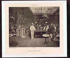 French Gaming Room-Coups de Fantaisie-François Adolphe Grison-1880 Collotype