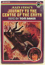 Vintage Set of 2 Tom Baker Sci-Fi Audio Cassettes- Dr Jekyl/Journey Center Earth