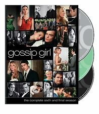 Gossip Girl: The Complete Sixth and Final Season (DVD, 2013, 3-Disc Set) NEW!!!