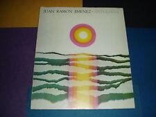 ANTOLOGIA. Verso y Prosa de Juan Ramón Jiménez. Ed. 1971