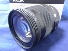 Sigma Standard Lens 17-70mm F2.8-4 DC MACRO HSM for Sony Camera from Japan New