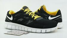 d4c3418f1d53 NIKE FREE RUN 2 + LAF USED SIZE 15 LIVESTRONG BLACK WHITE GREY MAIZE 442163  001