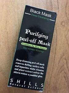 Shills - Black Mask Purifying Peel off Mask - Facial Care. Rid Of Blackheads