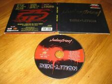 JUDAS PRIEST demolition RARE Ltd. EMBOSSED DigiPak 2001 Steamhammer |Scanner|