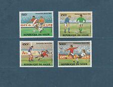 Niger poste aérienne  coupe du monde de Football  1984   num:  329/332  **