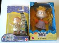 """1998 RUGRATS MOVIE TOYS ANGELICA  DOLL 5"""" YELLOW YARN HAIR & TOMMY NEW MINT"""