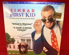 Laserdisc I * First Kid * Sinbad Brock Pierce Blake Boyd Letterbox