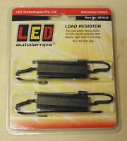 LED Autolamps LR12/2 Load Resistor PAIR for LED Light Car Boat Plant Box Trailer