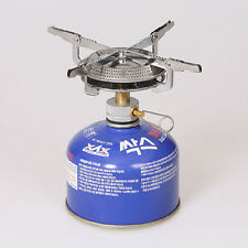 Portable BBQ Outdoor Picnic Gas Burner Camping Mini Stainless Steel Stove
