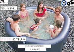 MSpa XXL 6 Personen aufblasbarer Whirlpool Otium M-OT061 Indoor+Outdoor Pool