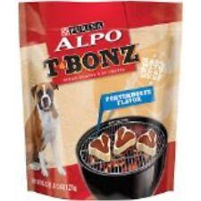 Purina ALPO T-Bonz Brand Dog Treats, Porterhouse Flavor, Steak-Shaped, 45-Ounce