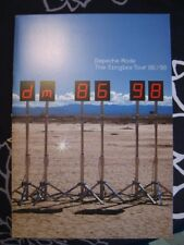Depeche Mode Tour Book Singles Tour