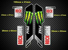 Rock Shox Pike 2013 Style Suspension Fork Decal/Stickers 002
