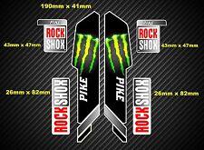 ROCK SHOX PIKE 2013 stile Sospensione Forcella Decalcomania / Adesivi 002
