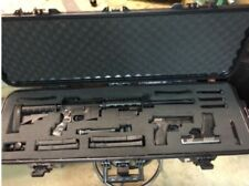 "PRO Hard Shell Gun Case Customize Foam AR15 Rifle Firearm 42"" Storage Waterproof"