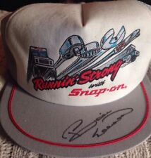 Snap On Tools Collectable Autographed BILL ELLIOTT Running Strong Cap 1987