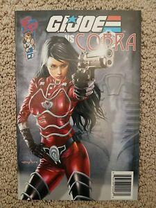GI Joe vs Cobra #2 (2009) Fun Pub Joecon Special Diamond Edition Greg Horn cover