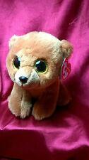 "2015 Ty Beanie Babies Brownie The Honey Bear Plush 6"" Stuffed Animal New Tags"