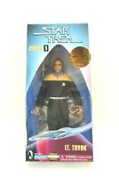 "NIB STAR TREK Voyager Figure 9"" Playmates WARP FACTOR Series LT TUVOK"