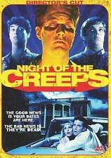 Night of the Creeps (DVD, 2009) RARE 1986 HORROR COMEDY JASON LIVELY MINT DISC