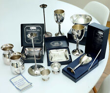 More details for robert welch - old hall - job lot of 12 silver plated gift items