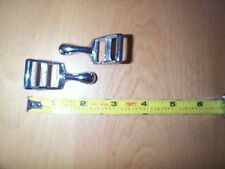CHROME REIN GUIDES, THESE SLIDE THROUGH YOUR HIP STRAPS