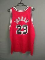 Michael Jordan Chicago Bulls Jersey Size 48 Basketball Mens Trikot Champion ig93