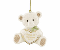 Lenox 2019 Baby's First Christmas Teddy Bear Ornament