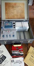 """RCA WT-110A """"Cardmatic"""" Automatic Mutual Conductance Tube Tester w/ Accessories."""