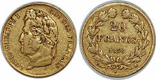 LOUIS PHILIPPE 20 FRANCS OR 1838 A  F.527 PARIS GOLD