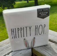 Rae Dunn Paper Napkins Plates HIPPITY HOP 40 Napkins and 16 Dessert Plates New
