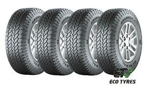 1X , 2X or 4X Tyres 265 60 R18 110H All Terrain A/T General Grabber AT3 E E 73dB