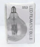 UK CA033-5x E27 1W Orange LED GLS-lamp A60 240V 12lm 5 Pieces Orange