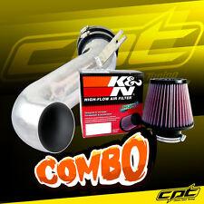 08-10 Cadillac CTS 4dr 3.6L V6 Polish Cold Air Intake + K&N Air Filter