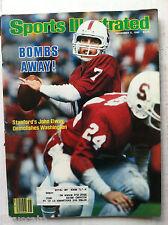 1982 JOHN ELWAY STANFORD CARDINALS ROOKIE 1st DENVER BRONCOS Sports Illustrated