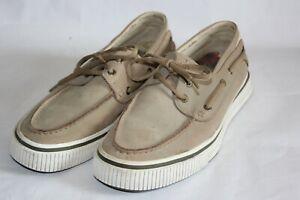 Tommy Bahama Hemisphere Boat Shoes, Almond, Men's Size 9.5