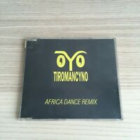 Tiromancyno - Africa Dance remix - CD single PROMO - 1992 BMG - RARO