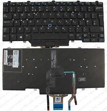 DELL Latitude E5450 E7250 E7450 3340 TECLADO GB diseño con retroiluminación