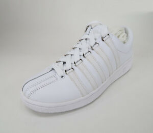 K-Swiss Men Shoes Classic Luxury Edition White Sneakers #2404