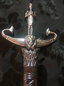 Egyptian God Athame / Dagger Ceremonial Altar Knife