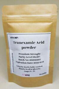 Tranexamic Acid Powder Grade A - Approved Skin Lightener for DIY Treatments