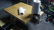 """Paper Towel Rack for Harbor Freight 18"""" Clamp: Circle Plate ONLY!"""
