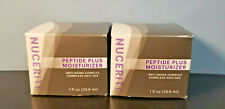 Lot of 2 NuCerity Peptide Plus Moisturizer Anti-Aging Complex Full Size 1 oz New