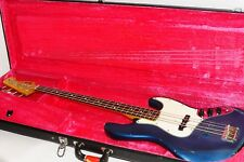 Excellent 1982 Fender Japan JB62-75 JV Serial Jazz Bass Guitar Ref No 1186