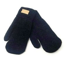 Winter Mittens, Warm Gloves, Color Black