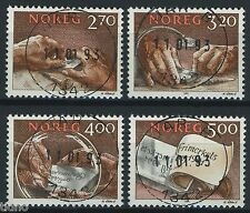 Norway 1991. NK 1119-1122 (From S/S) Son Superb 1342 Jar B 11.01.93 (AK)
